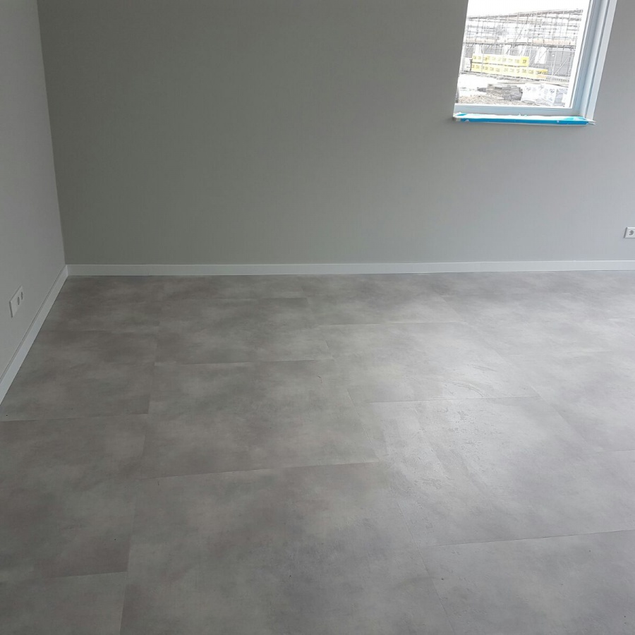Ambiant concrete off grey 9088211619 pvc vloer for Tegel pvc imitatie tegel cement