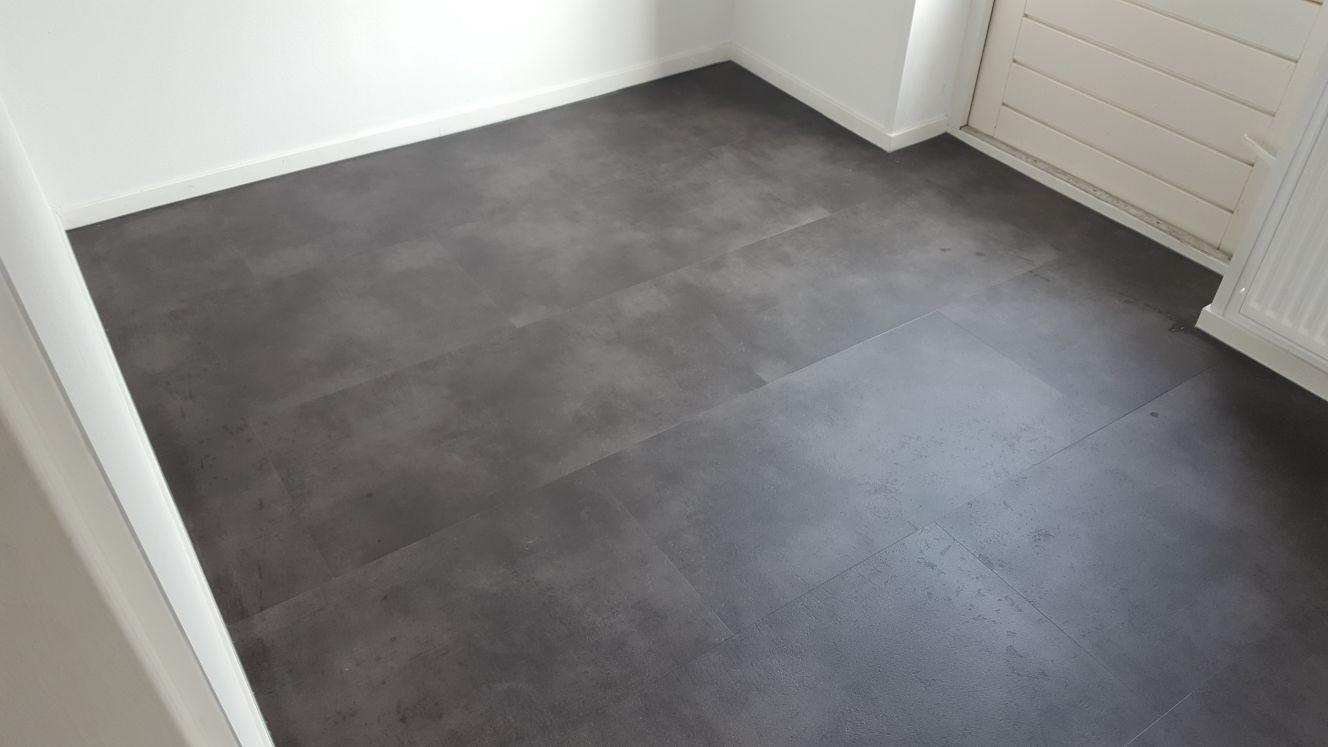 Ambiant concrete antracite mat  pvc vloer