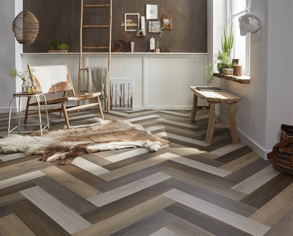 Kunststof vloeren met een natuurlijke uitstraling