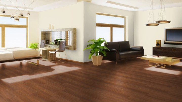 Keuken nieuwe keukenvloer Mflor Woburn Woods Charnwood Oak 69512 PVC vloer