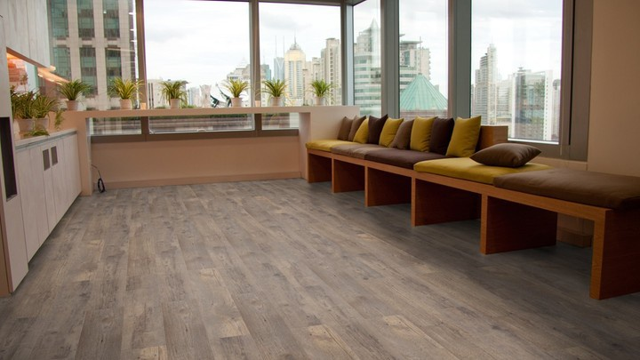 Pvc Vloeren Aanbieding : Mflor authentic plank shade pvc vloer
